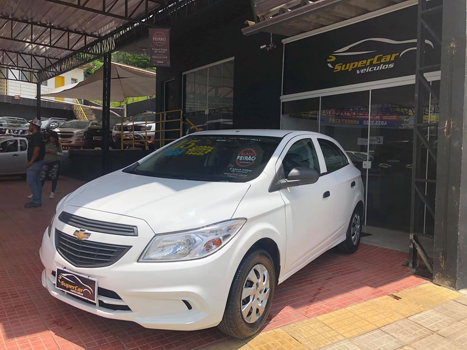 Chevrolet Onix 1.0 MPFI LS 8V Flex 4P manual (SUPER CAR VEÍCULOS)