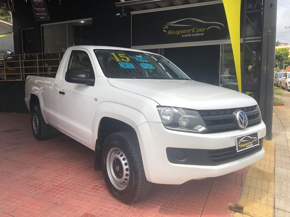 Volkswagen Amarok 2.0 S 4x4 CS 16V Turbo Intercooler Diesel 2P Manual (SUPER CAR VEÍCULOS)