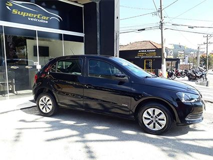 Volkswagen Gol 1.0 MI 8V Flex 4P manual G.IV (SUPER CAR VEÍCULOS)