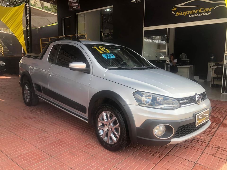 Volkswagen Saveiro 1.6 Cross CE 16V Flex 2P manual (SUPER CAR VEÍCULOS)