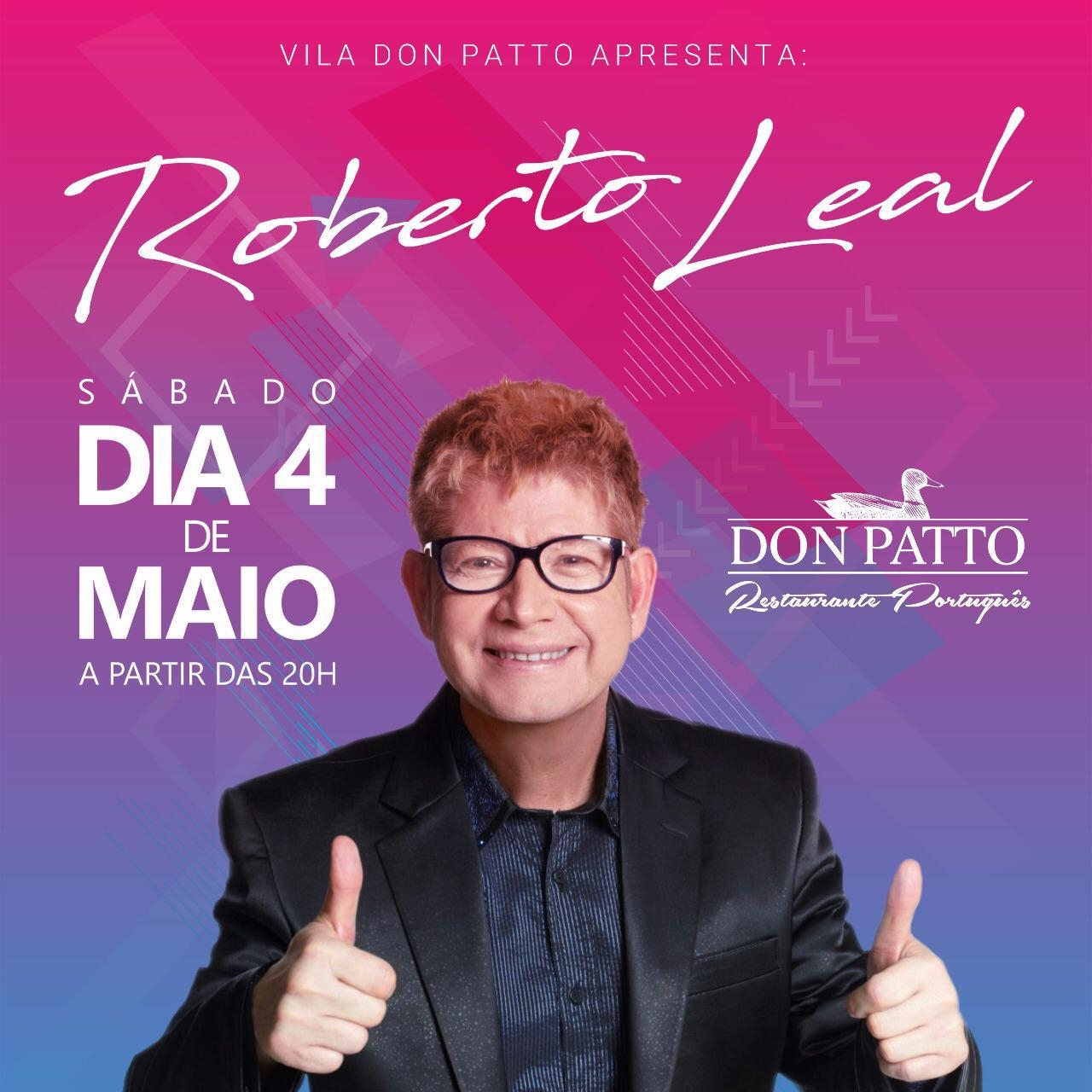 Vila Don Patto recebe show do Roberto Leal