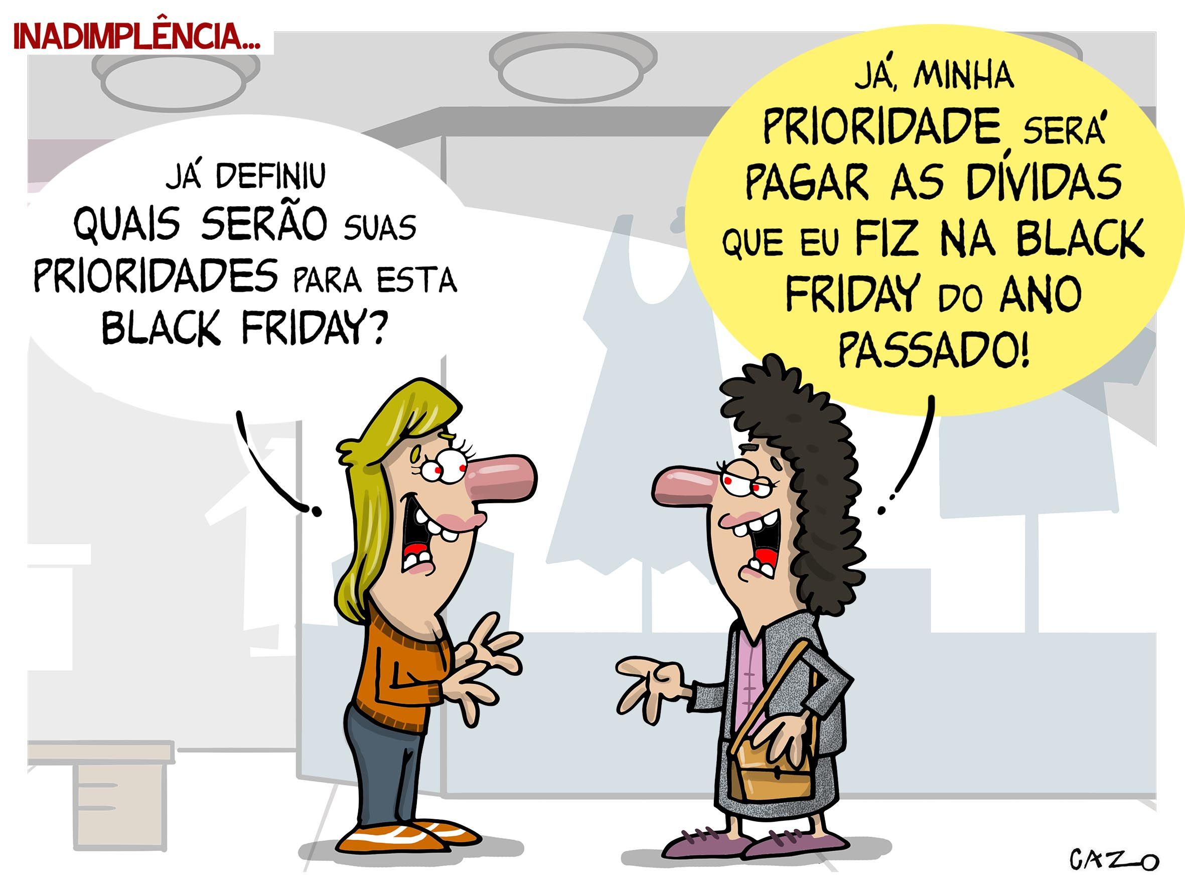 As dívidas da Black Friday