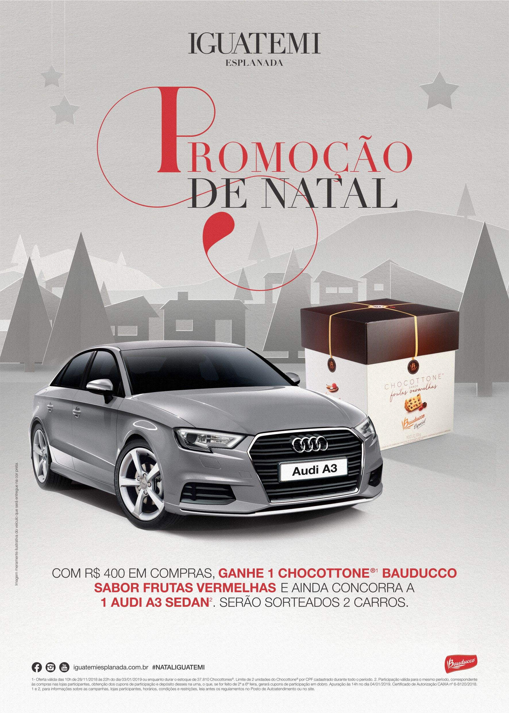 iguatemi esplanada lan a promo o de natal je online. Black Bedroom Furniture Sets. Home Design Ideas
