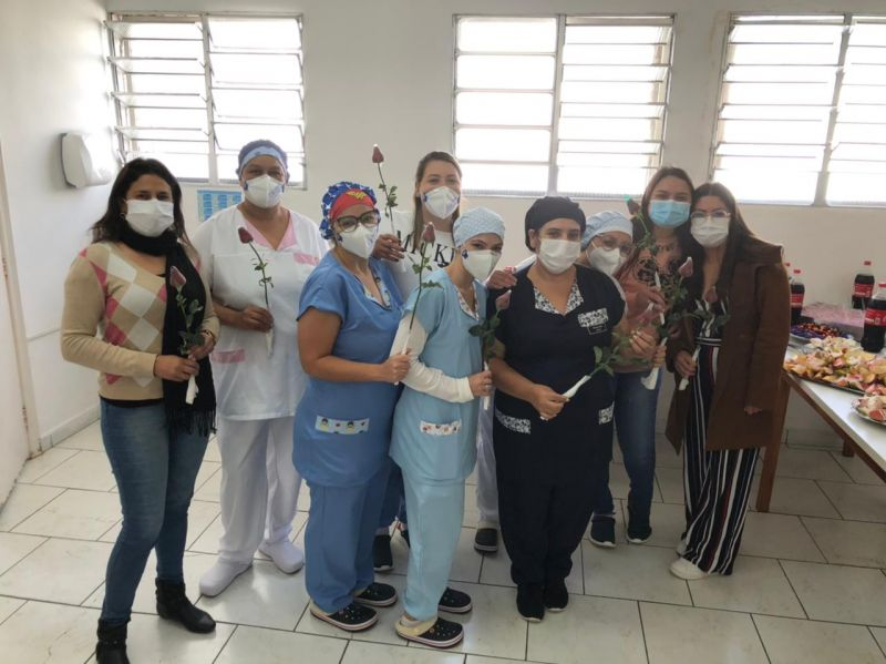 Ibiúna organiza café da manhã para as mães do Hospital Municipal