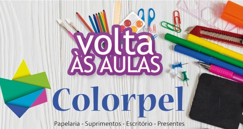 Volte as aulas com a Colorpel